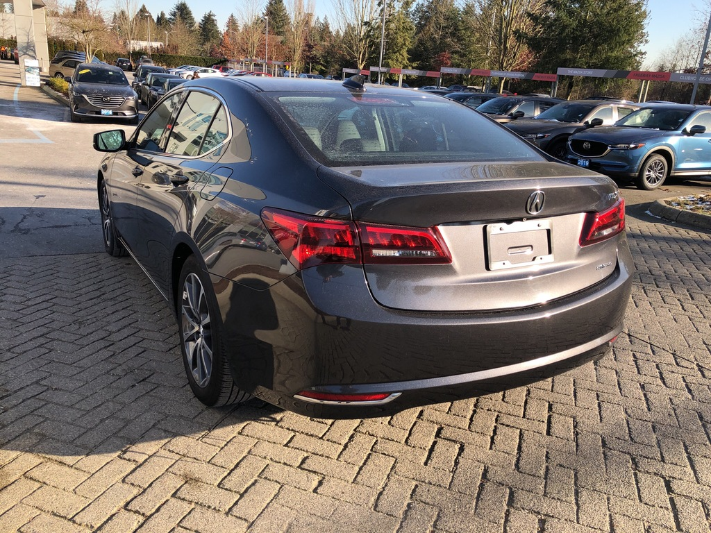 Pre-Owned 2015 Acura TLX SH-AWD,V6,3.5L,LEATHER,SUNROOF,AUTOMATIC