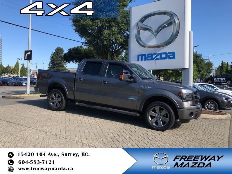 Pre-Owned 2014 Ford F-150 FX4 - Bluetooth - SiriusXM - $228 B/W