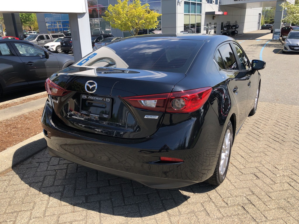 Pre-Owned 2016 Mazda3 GS,MANUAL,ONE OWNER,SUNROOF