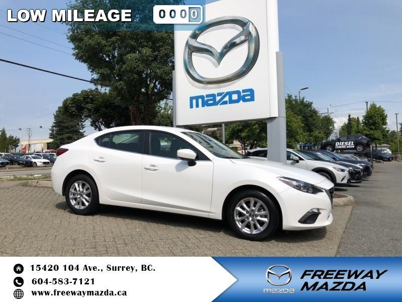 Pre-Owned 2016 Mazda3 GS - Heated Seats - $110 B/W