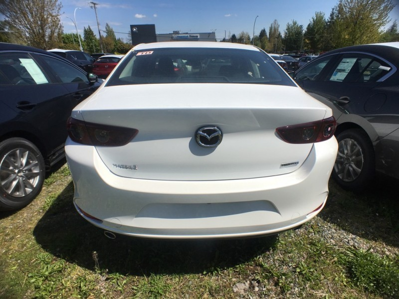 New 2019 Mazda3 GS Manual FWD - Heated Seats - $156 B/W