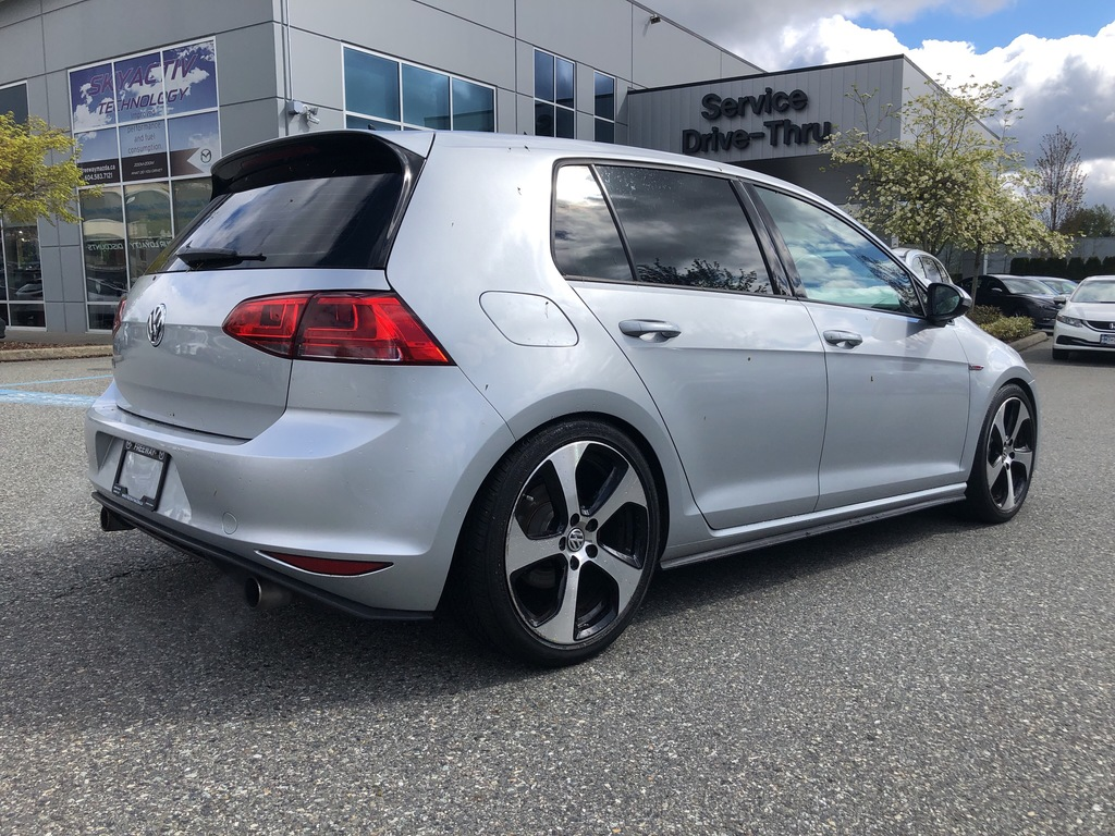 Pre-Owned 2016 Volkswagen GTI AUTOBAHN,DSG TRANSMISSION,SUNROOF,PADDLE SHIFT