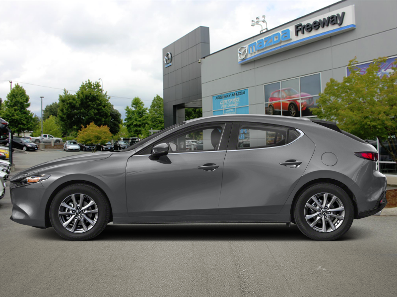 New 2019 Mazda3 Sport GS Auto FWD - Luxury Package - $182 B/W