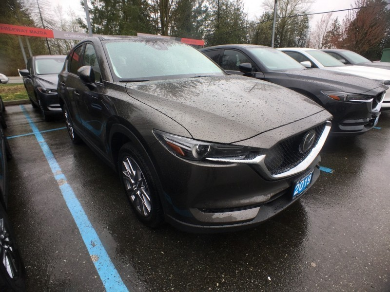 New 2019 Mazda CX-5 GT w/Turbo Auto AWD - Head-up Display - $252 B/W