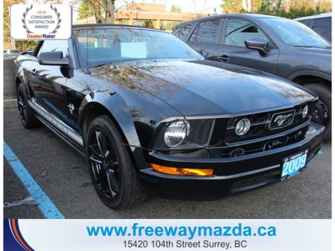 Pre-Owned 2009 Ford Mustang MANUAL,CONVERTIBLE,EXHAUST,19 INCH WHEELS