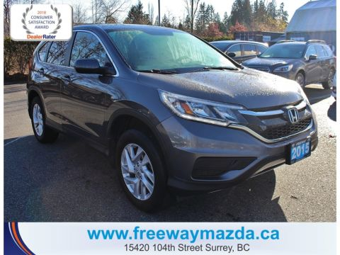 Pre-Owned 2015 Honda CR-V SE,LOCAL,NO CLAIMS,GREAT VALUE