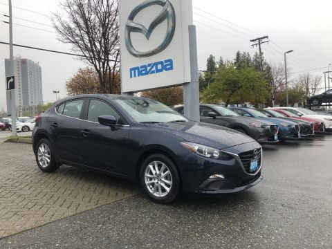 Pre-Owned 2016 Mazda3 GS,LOCAL,BACK UP CAMERA,ALLOY WHEELS,BLUETOOTH