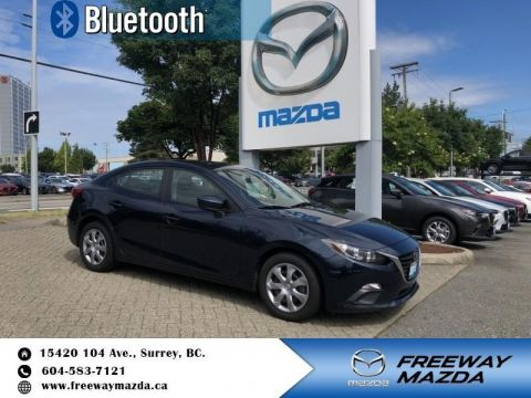 Pre-Owned 2015 Mazda3 GX - Bluetooth - $84 B/W