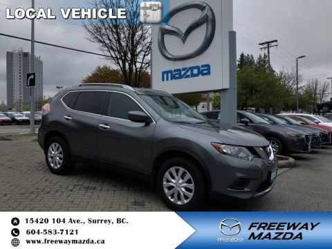 Pre-Owned 2016 Nissan Rogue S - Local - Navigation - $144 B/W