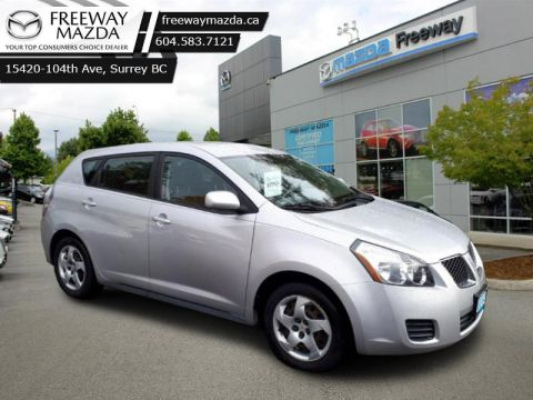 Pre-Owned 2009 Pontiac Vibe BASE - Low Mileage