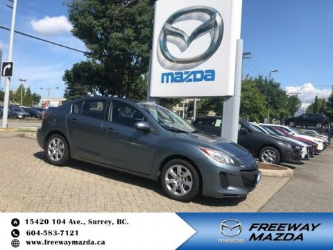 Certified Pre-Owned 2012 Mazda3 GX - Certified - Power Seats - $85 B/W
