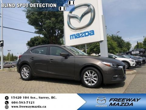 Pre-Owned 2017 Mazda3 GS - Heated Seats - $112 B/W