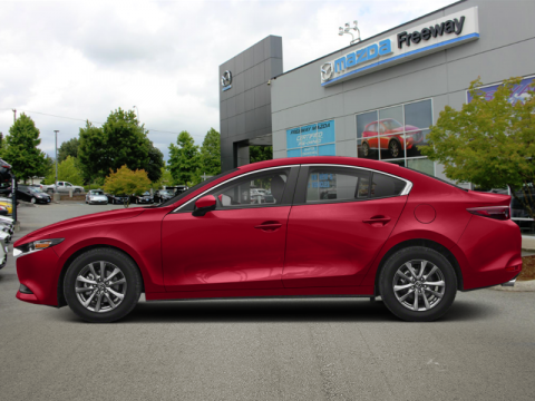 New 2019 Mazda3 GS Auto FWD - Luxury Package - $177 B/W