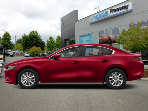 2019 Mazda Mazda3 GS Auto i-Active AWD  - Luxury Package - $181 B/W