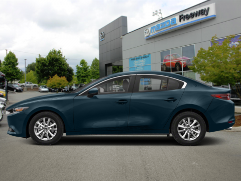 New 2019 Mazda3 GS Auto i-Active AWD - Luxury Package - $185 B/W