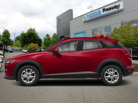 New 2020 Mazda CX-3 GS AT FWD - $159 B/W