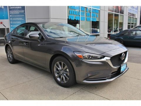 New 2018 Mazda6 GS-L Turbo Auto - Sunroof - Leather Seats - $209 B/W