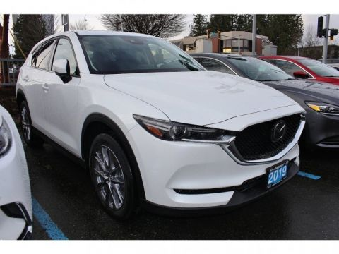 New 2019 Mazda CX-5 GT w/Turbo Auto AWD - Head-up Display - $253 B/W