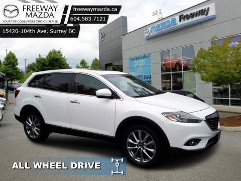 Pre-Owned 2015 Mazda CX-9 GT - Navigation - $179 B/W