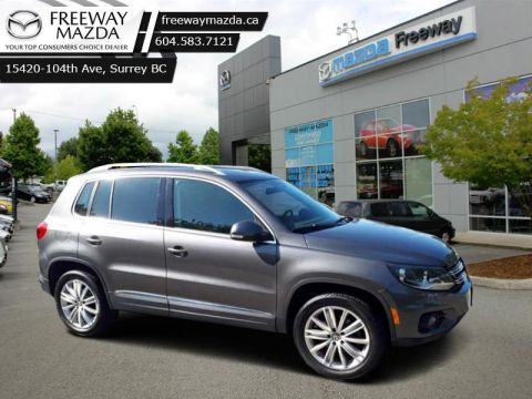 Pre-Owned 2015 Volkswagen Tiguan HIGHLINE - $159 B/W